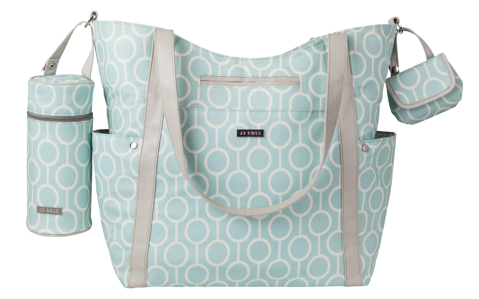 Aqua Radian Bucket Tote from JJ Cole