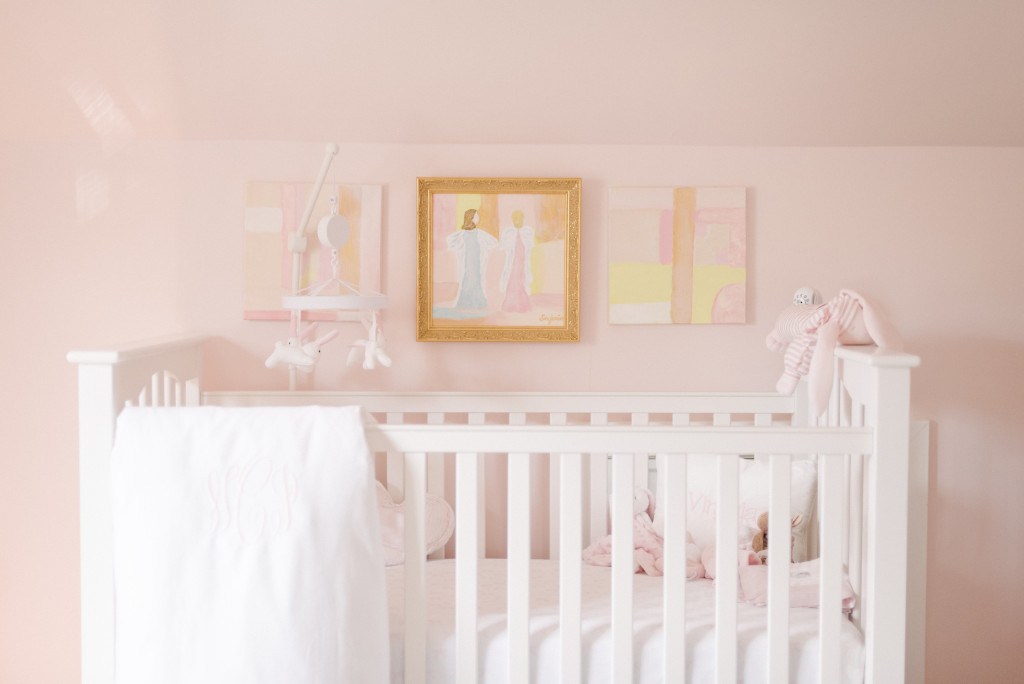 Pink and Angelic Nursery