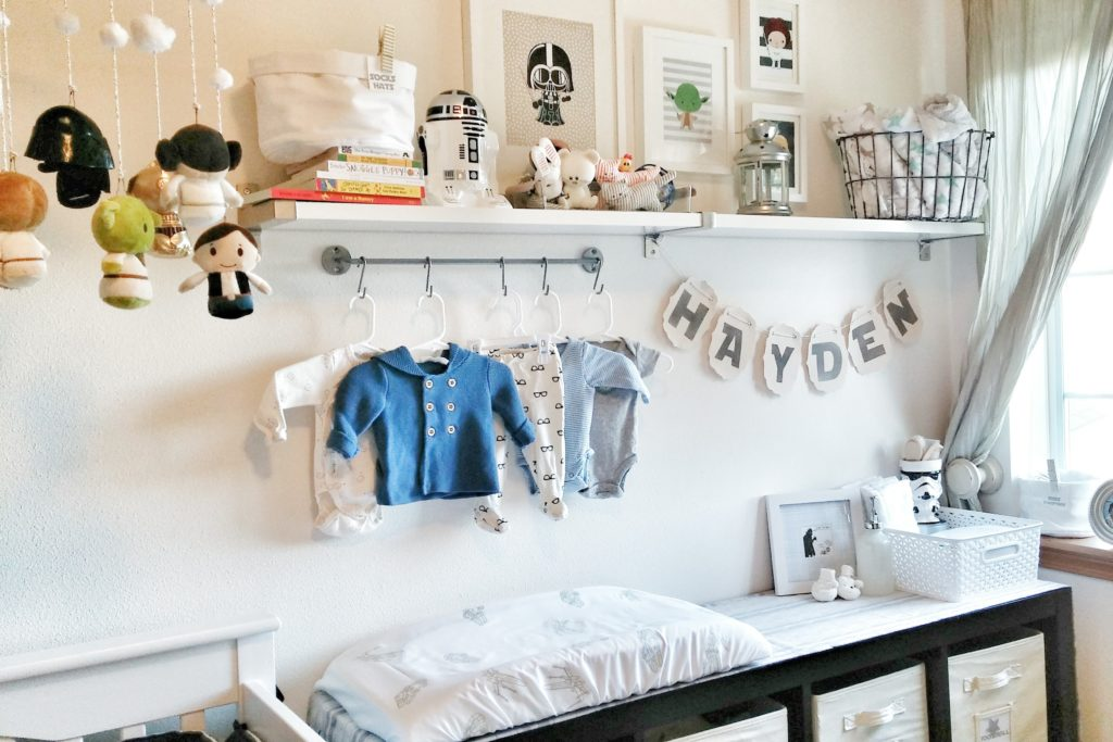 Gender Neutral Star Wars Nursery Project Nursery