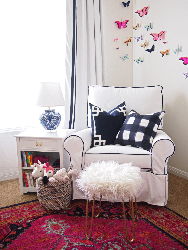 Girly Chinoiserie Nursery -- Sarice Amiee Interiors