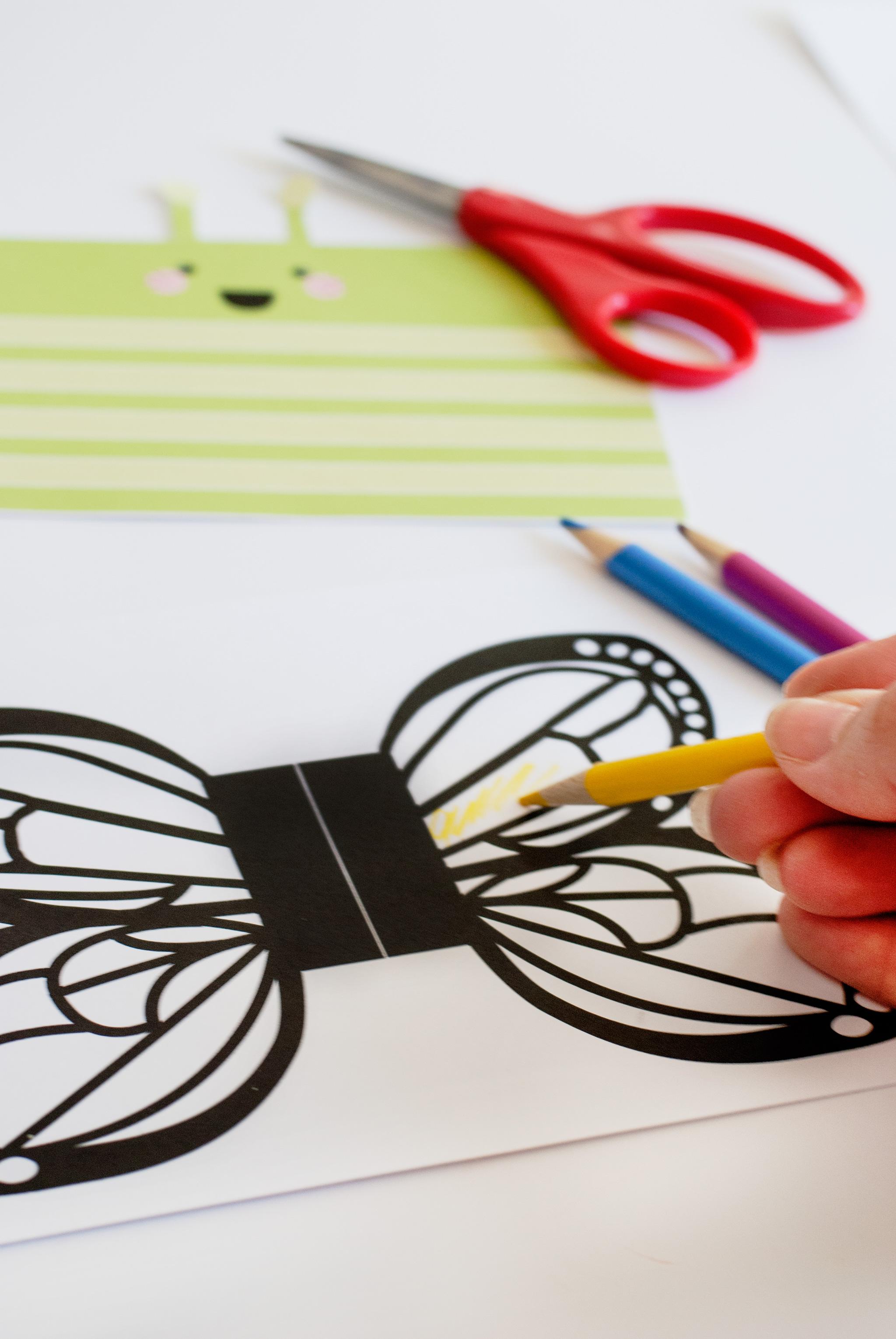 DIY Butterfly Kids Craft