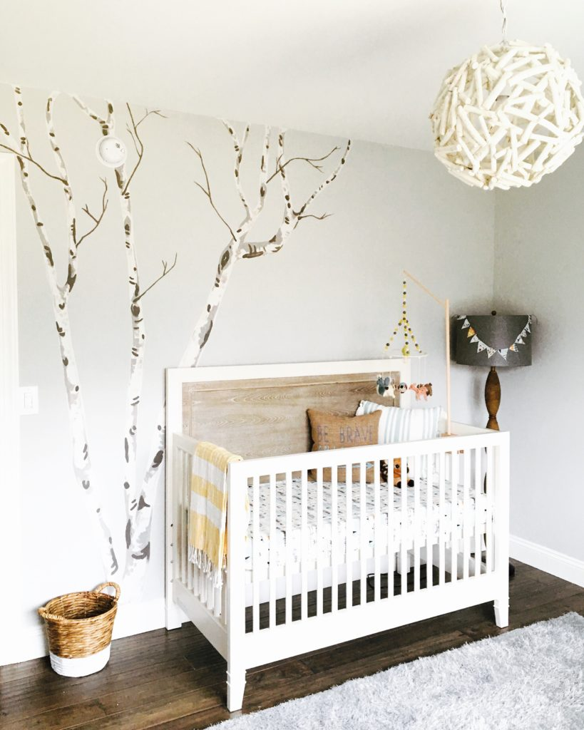 Rustic Chic Woodland Nursery Project Nursery