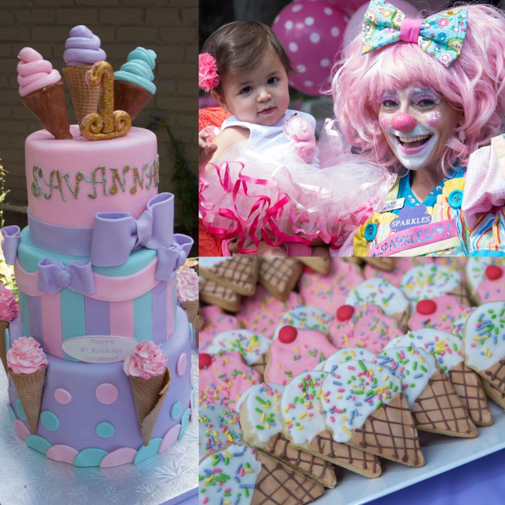 Ice Cream Shop 1st Birthday