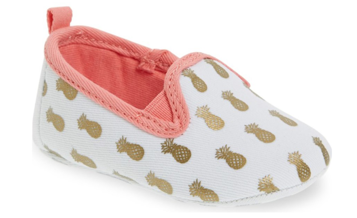 Pineapple Baby Shoes