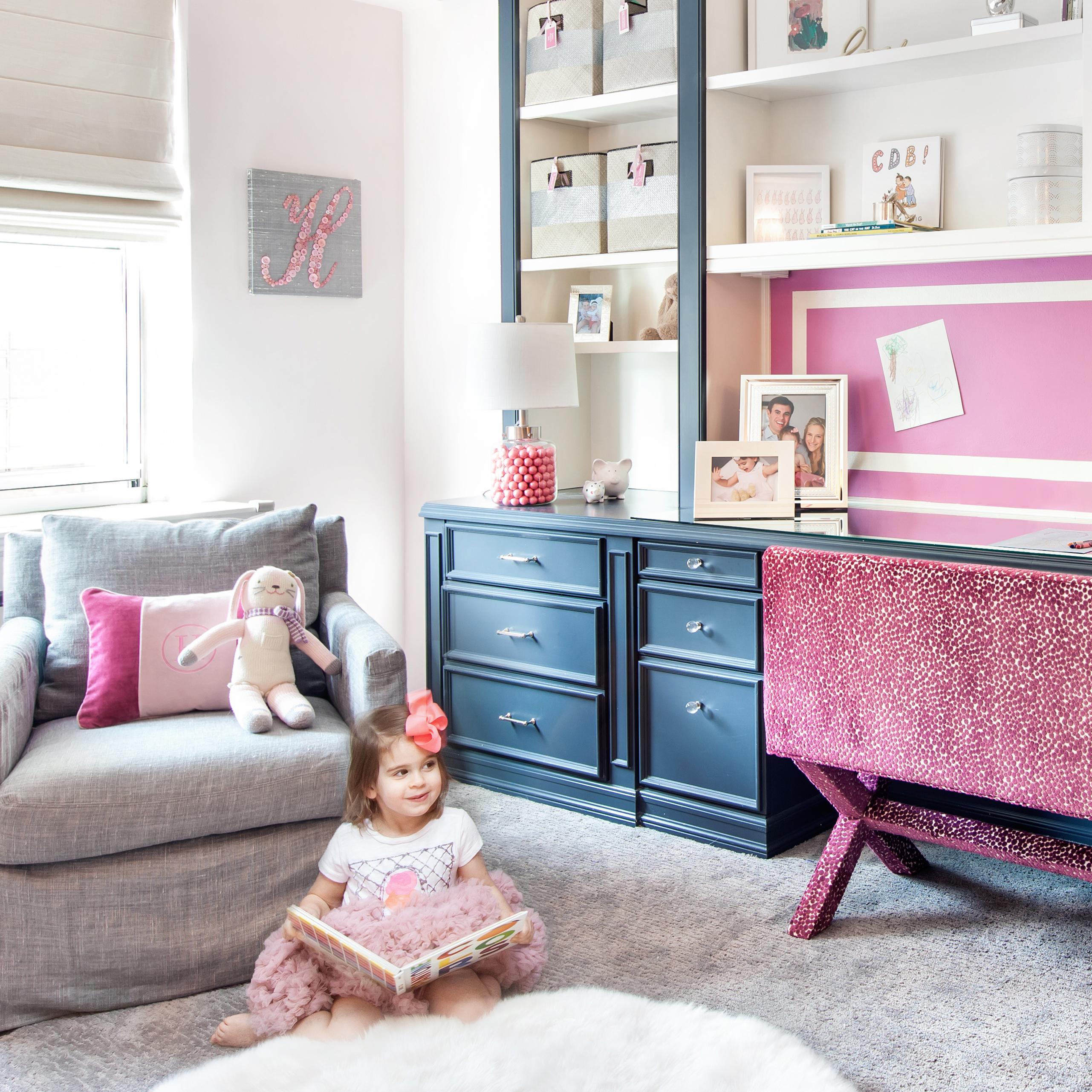 Hannah's Girly Toddler Room