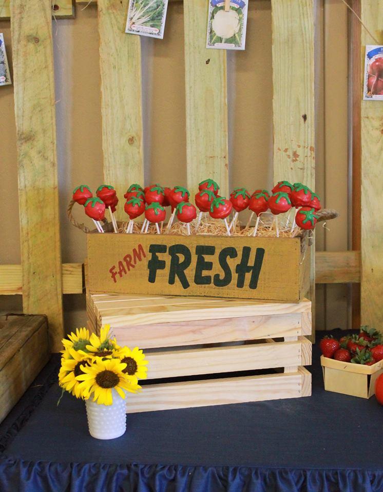Karter's Farmers Market Birthday Party - Project Nursery