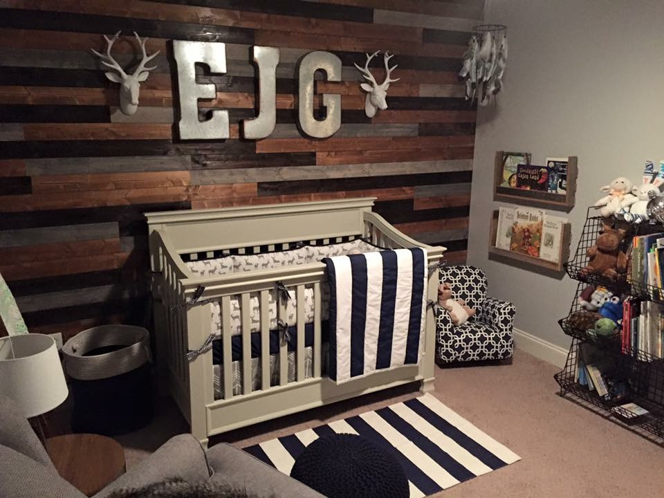 Emerson S Rustic Woodland Nursery Project Nursery