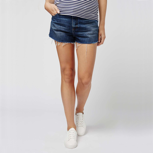 Maternity Jean Shorts from Topshop