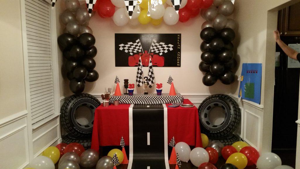 Race Car Themed Party Project Nursery