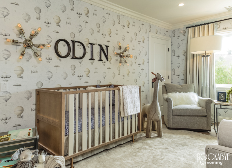 Celebrity Nursery Reveal Nick Carter S Nursery Project