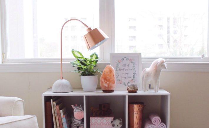 Girl's Nursery with Rose Gold Decor - Project Nursery