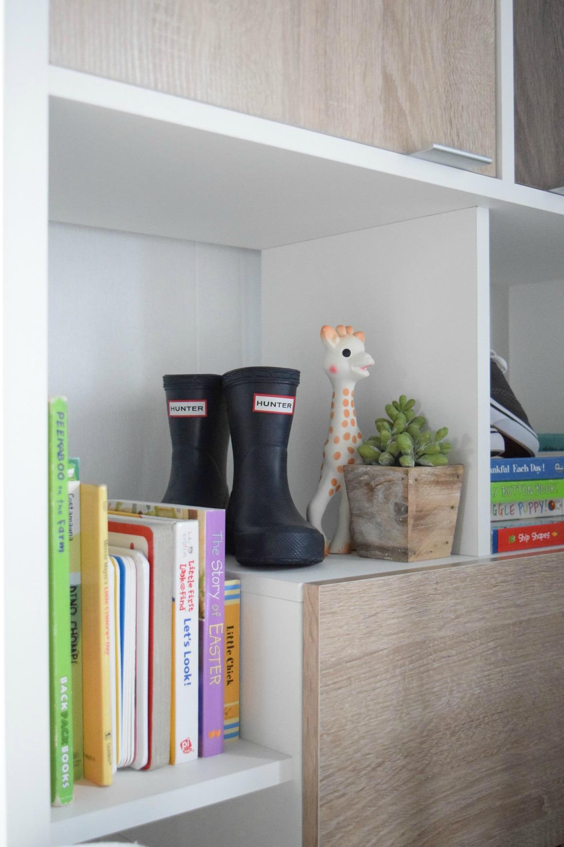 Modern Nursery Bookshelf
