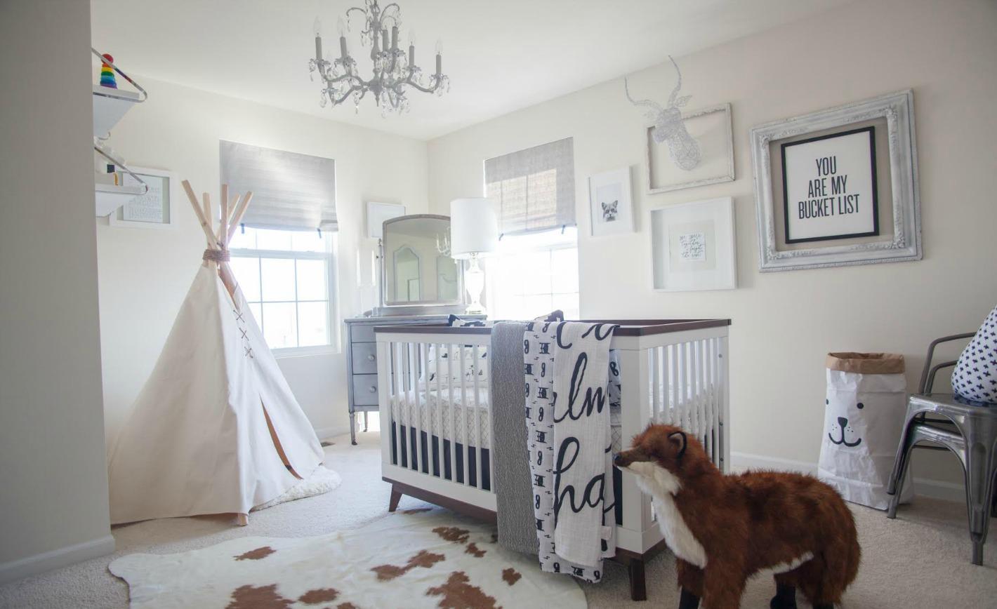 Whimsical Black And White Nursery Project Nursery