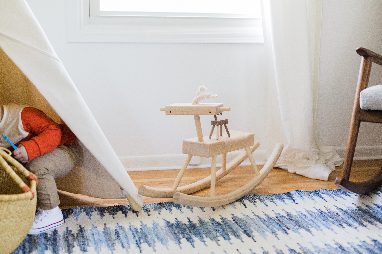 Bri Heiligenthal Mid-Century Modern Toddler Room