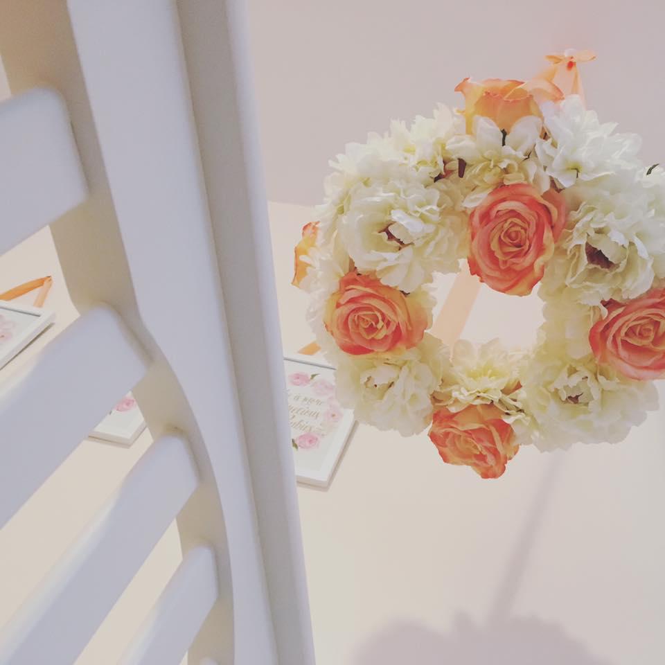 Dreamy Celebrity Nurseries: Dreamy Floral And Coral Nursery