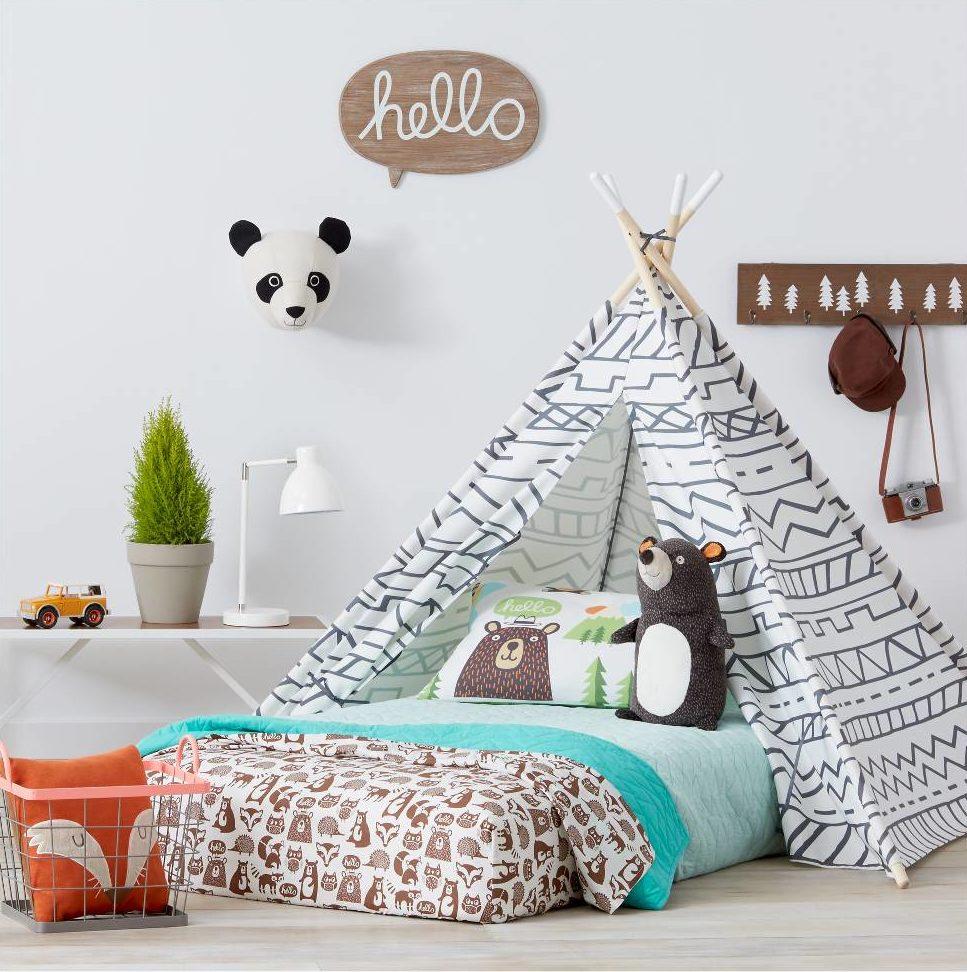 Pillowfort Panda Head