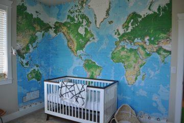 World Map Nursery