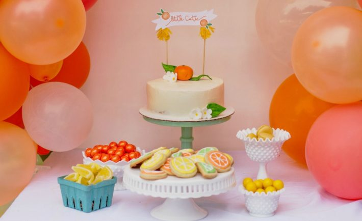 Citrus Baby Shower