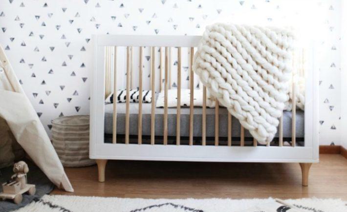Modern Black and White Nursery - Project Nursery