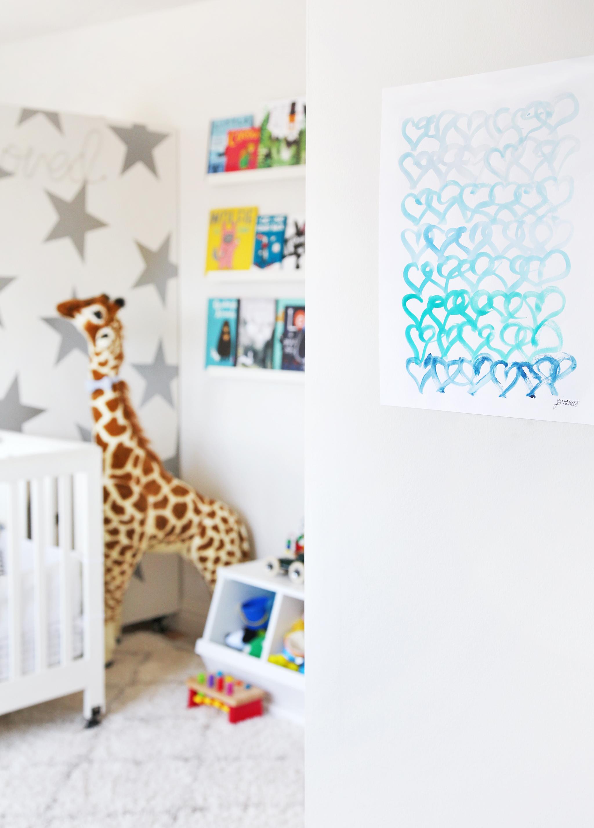 Jen Ramos Art in Nursery