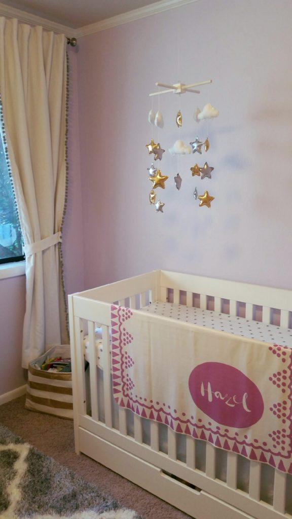 Lavender + Gold Nursery