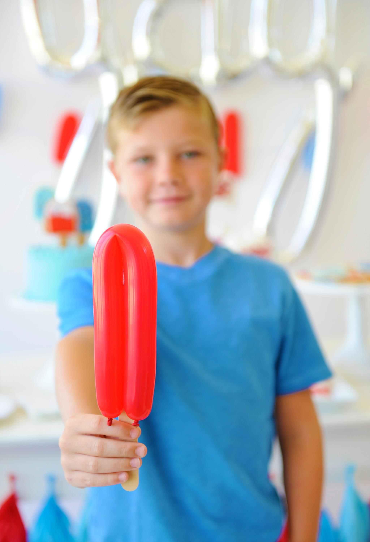 Balloon Popsicle