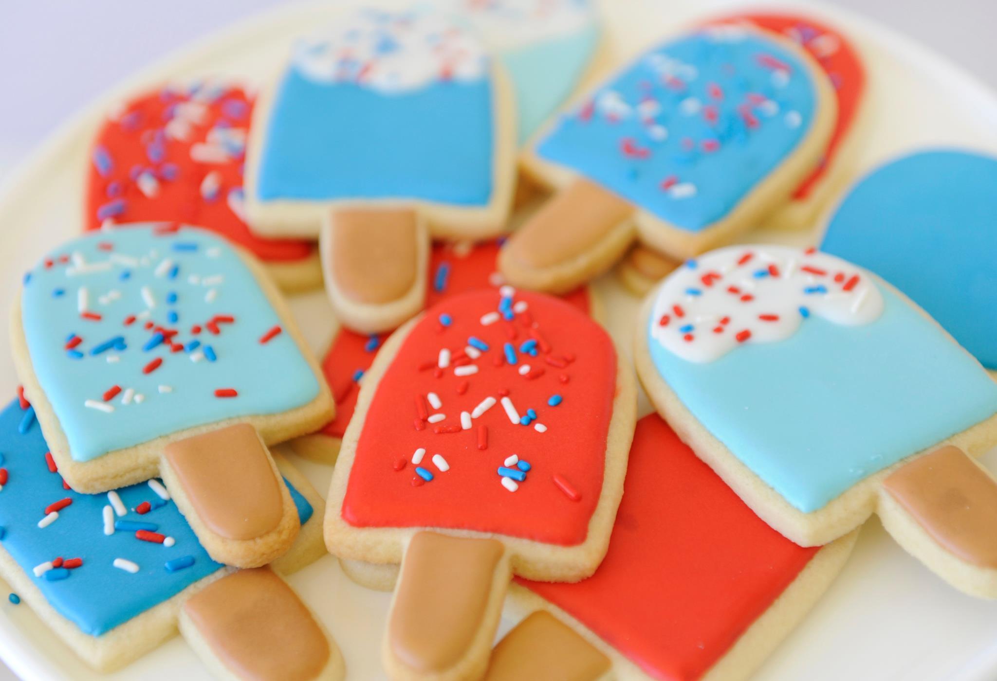 Popsicle Sugar Cookies