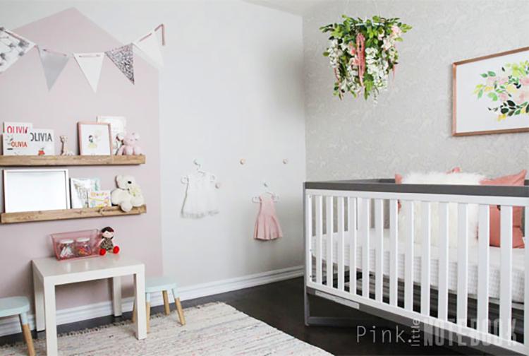 Whimsical Girl's Nursery