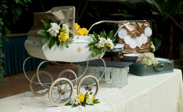 Vintage Gender Neutral Baby Shower - Project Nursery