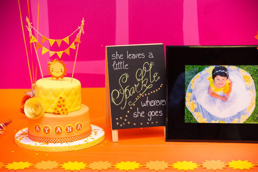 Little Miss Sunshine's 4th Birthday Party