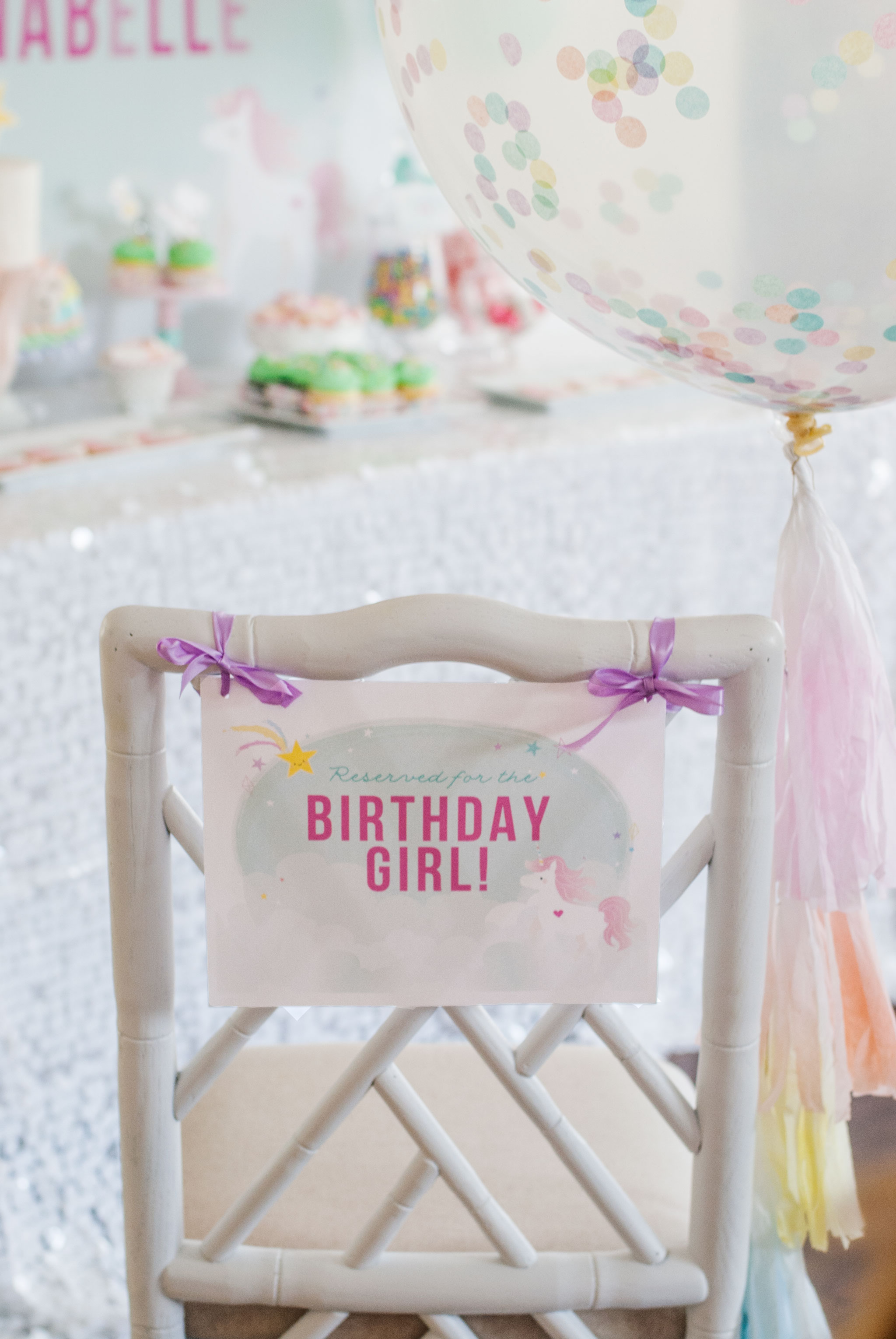 Magical Unicorn Party Decor