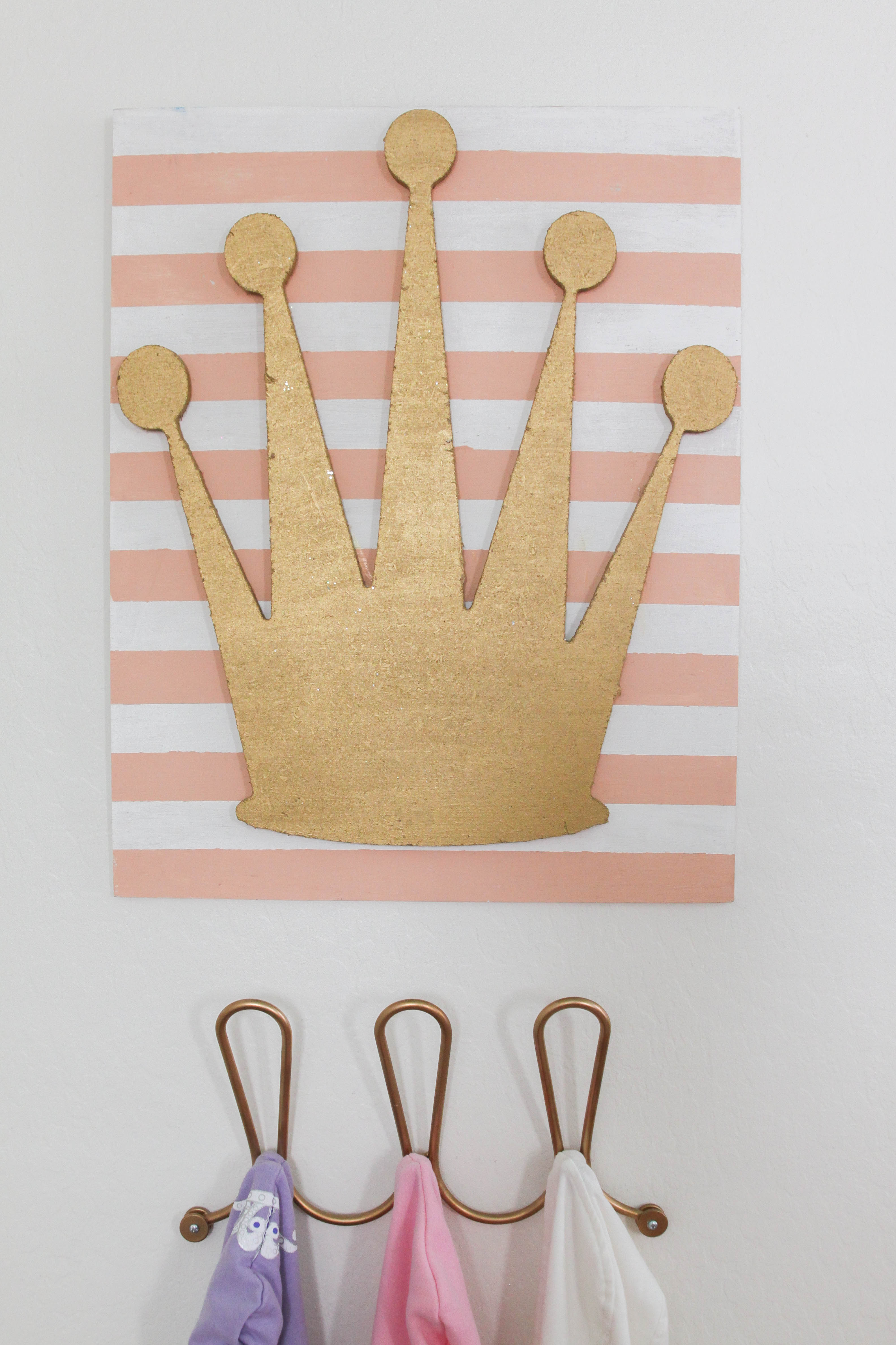 Gold Crown Nursery Decor