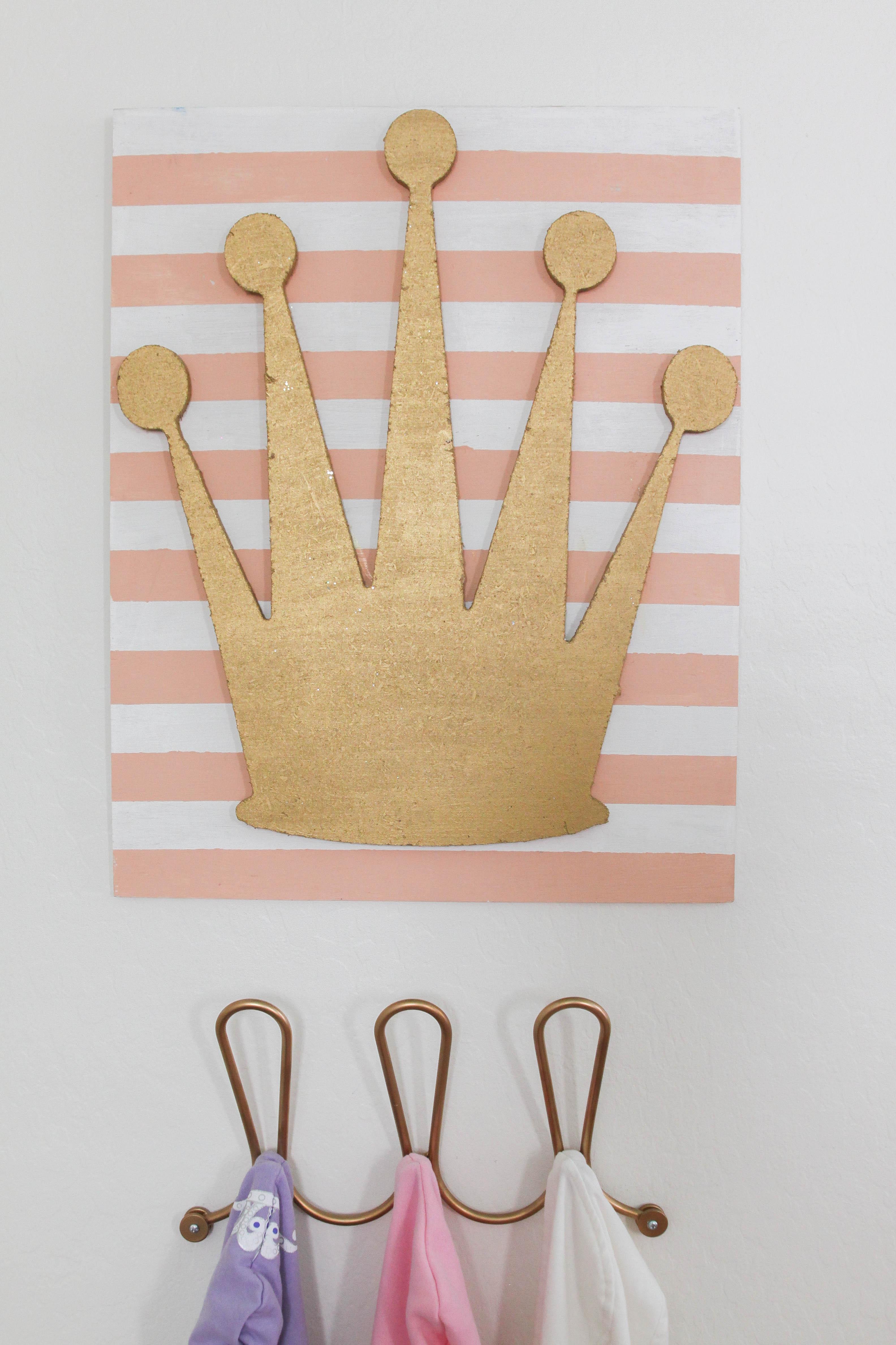 Gold Crown Nursery Decor