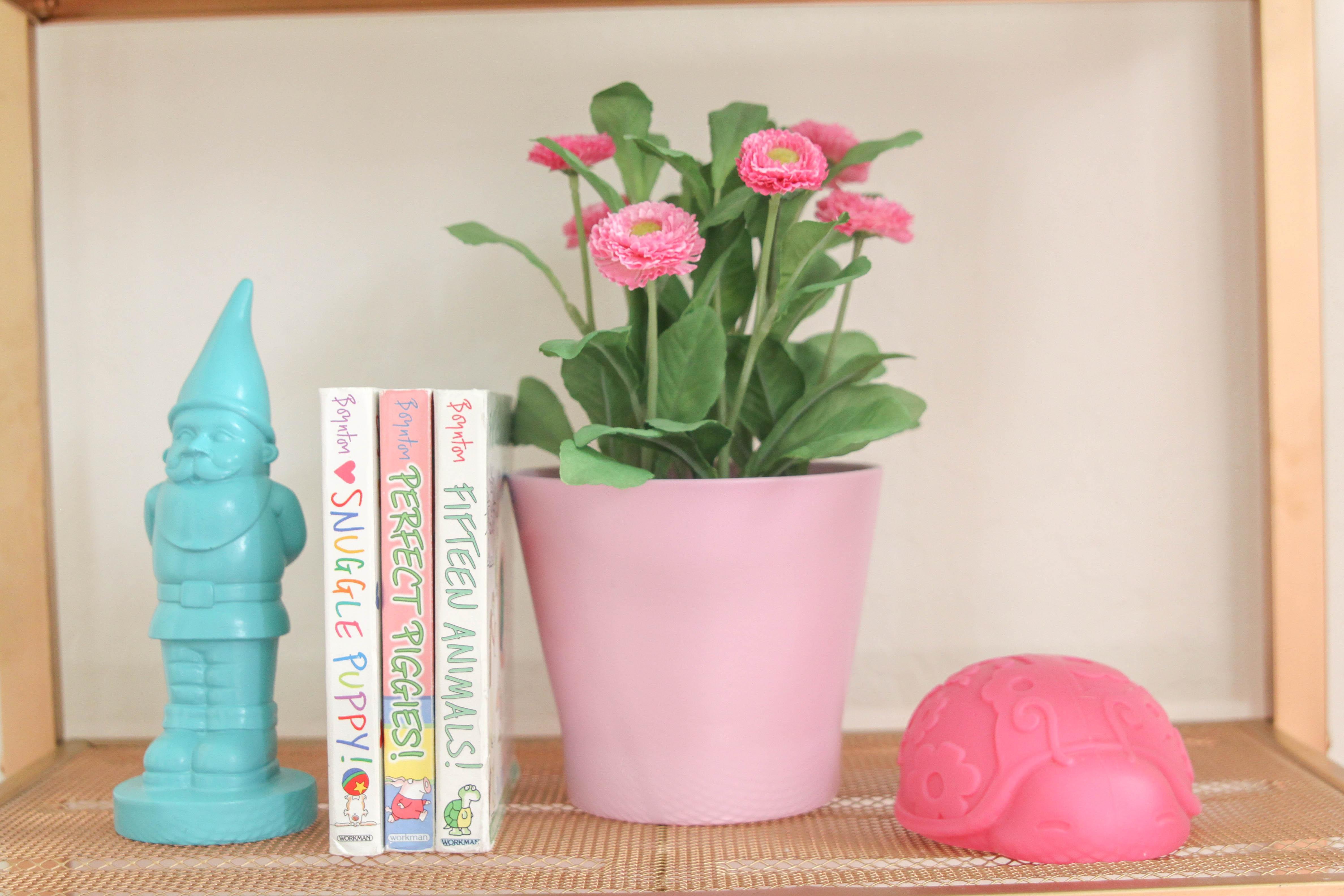Eclectic Girls Nursery Decor