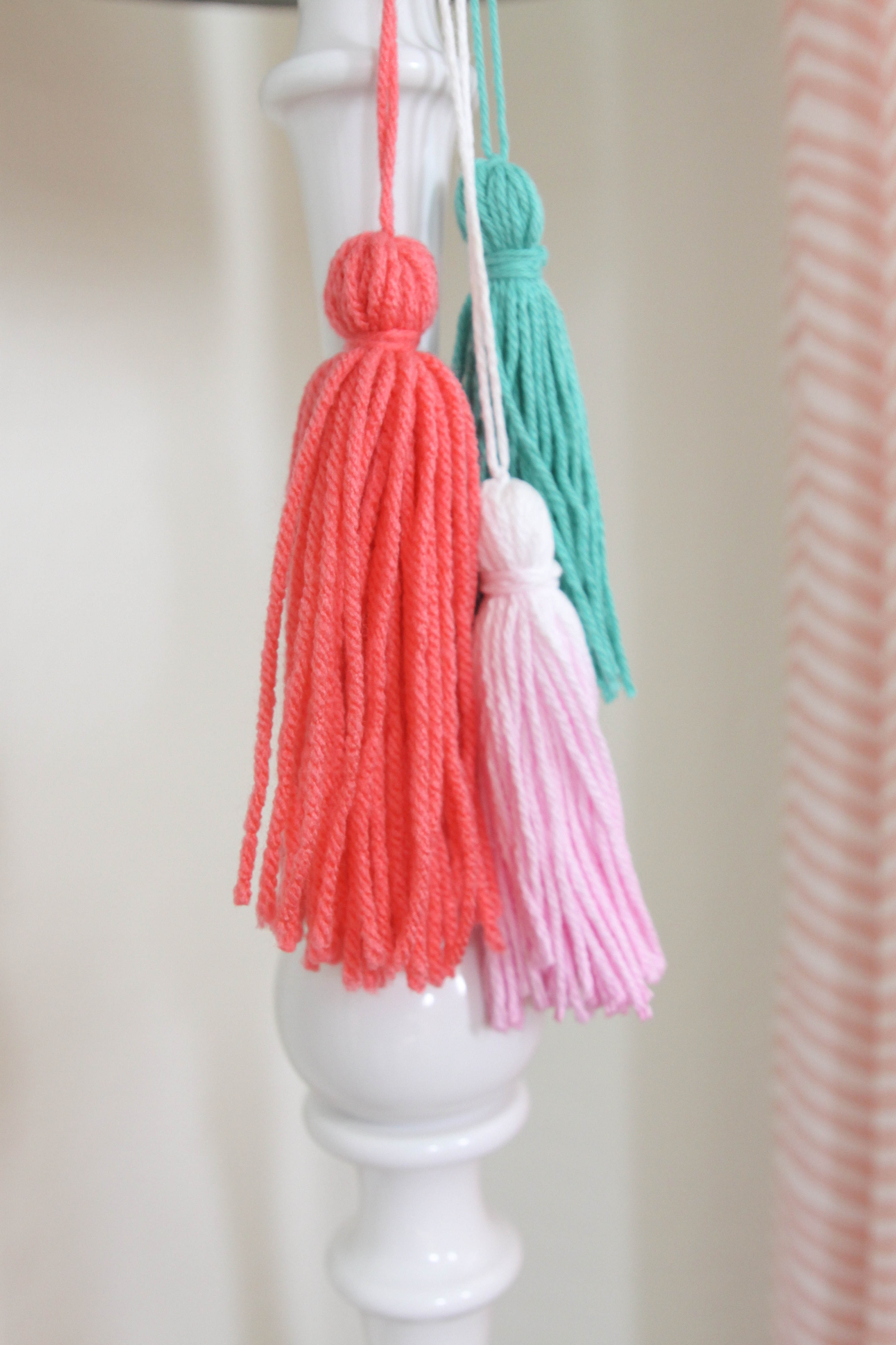 DIY Yarn Tassels