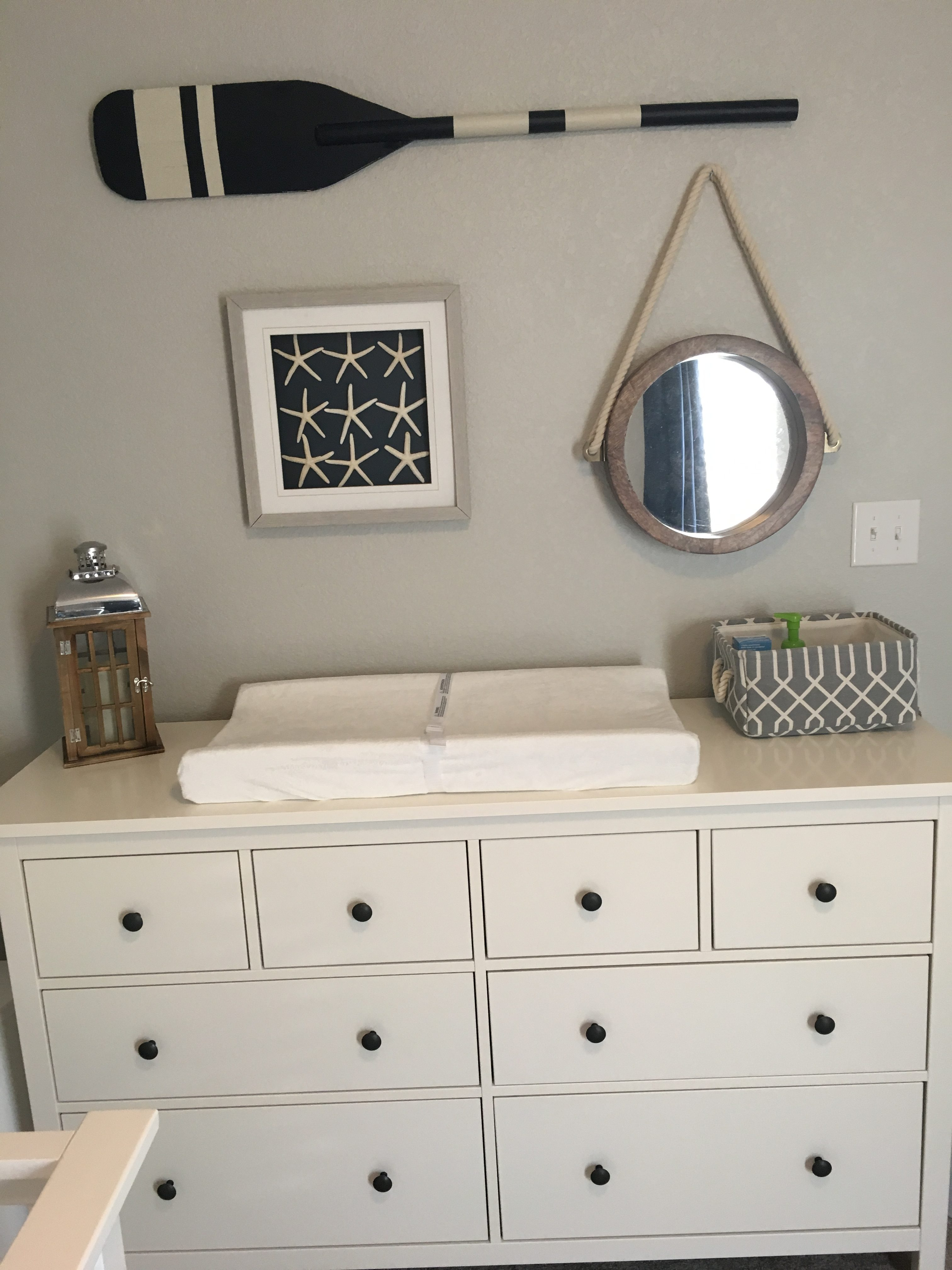 Nautical Nursery In Gray Navy And White Project Nursery