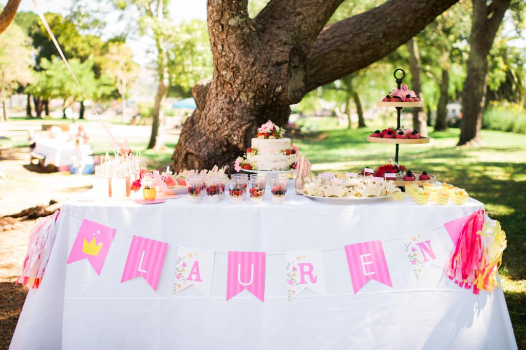 Princess Tea Party Food Table