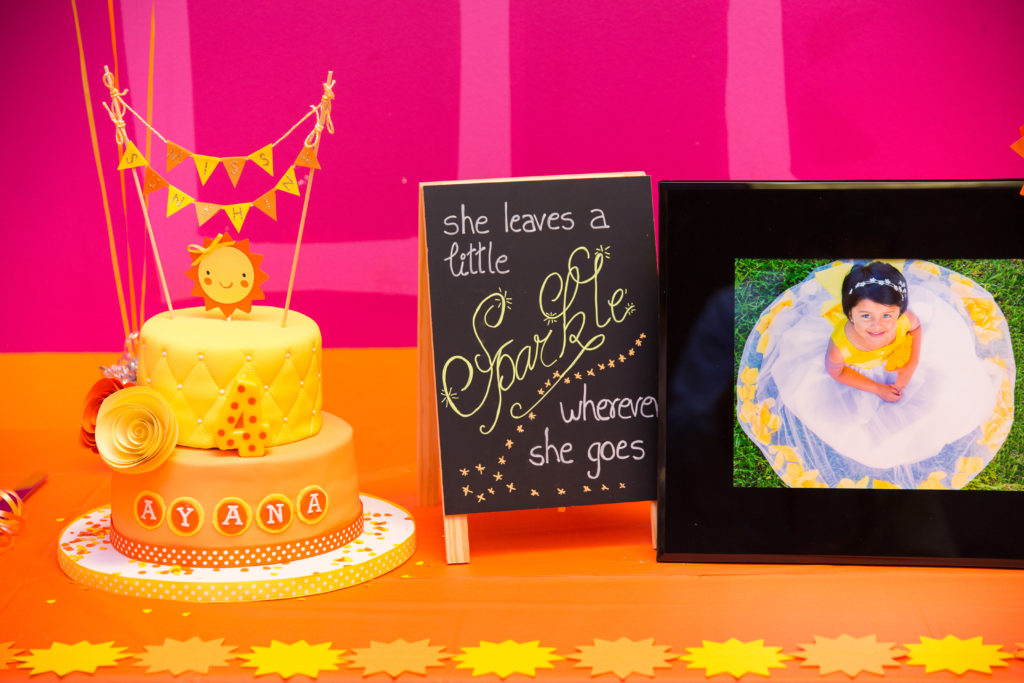 Pink and Yellow Kids Birthday Party - Project Nursery