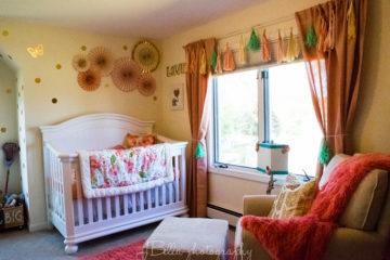 Pretty Peach Nursery