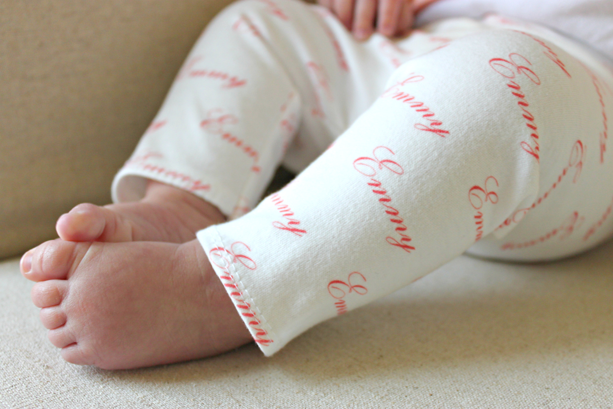 Modern Personalized Baby Gifts - Personalized Baby Leggings