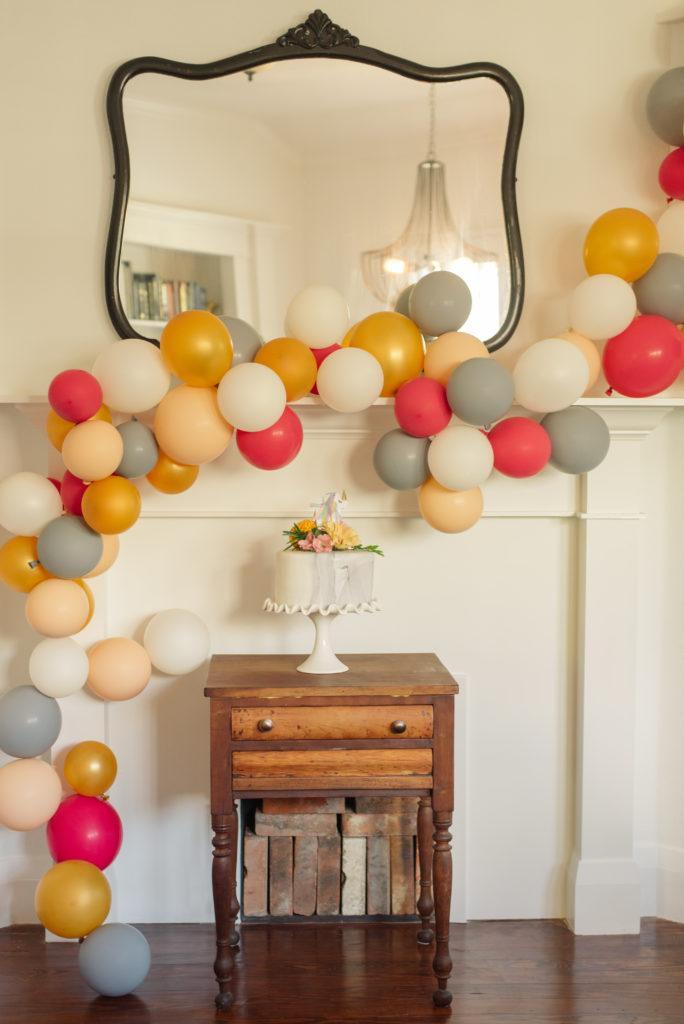 Unicorn Themed Birthday Party - Project Nursery