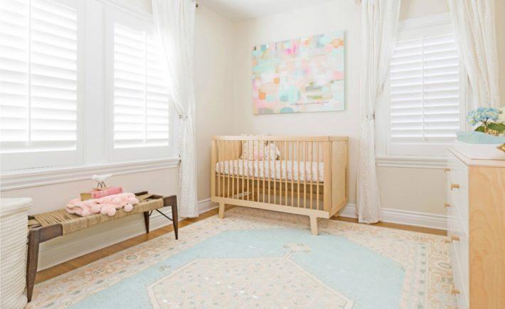 Pastel Nursery Design