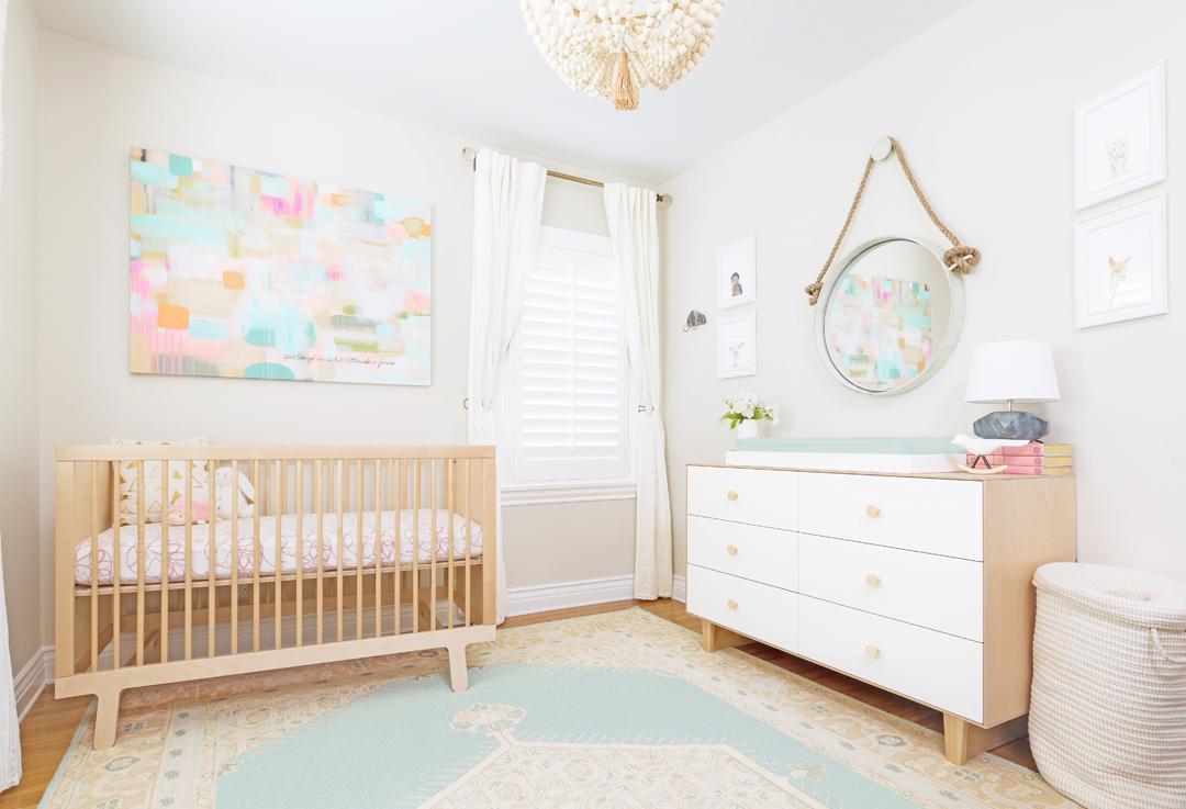 Modern Pastel Nursery