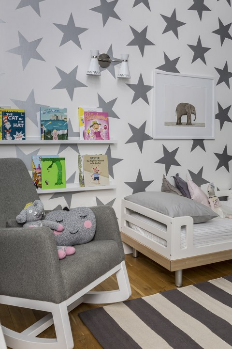Modern Shared Kids Room - Project Nursery