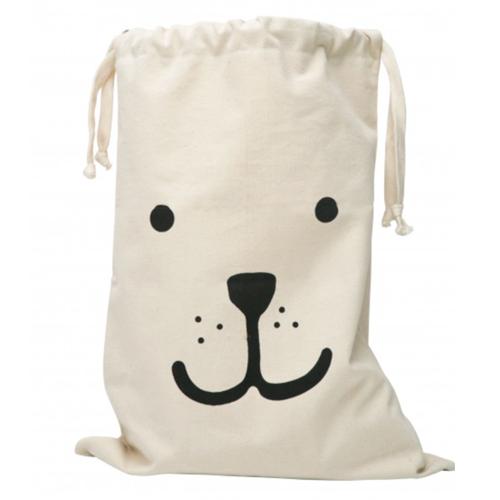 Fabric Bear Storage Bag
