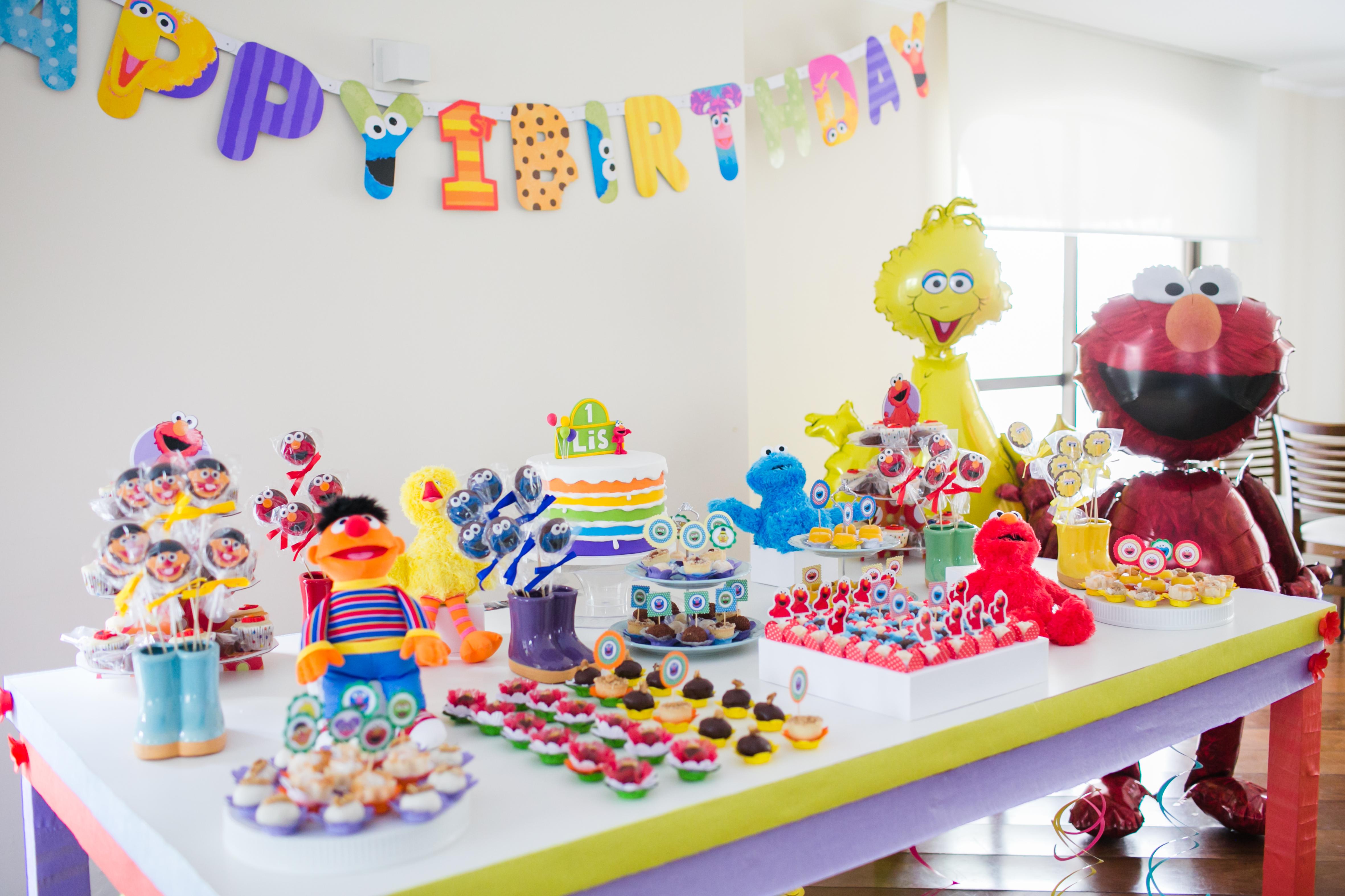 Lis Loves Sesame Street Birthday Party Project Nursery