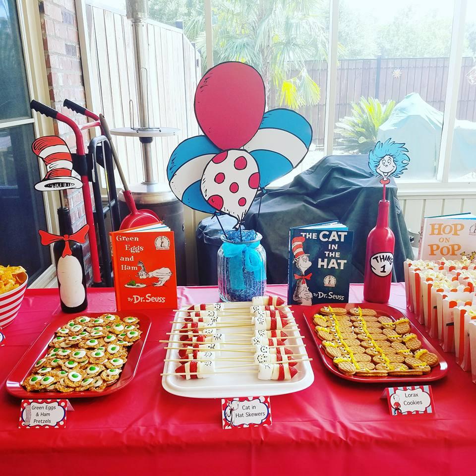 717829439 DIY Dr. Seuss 1st Birthday Party! - Project Nursery