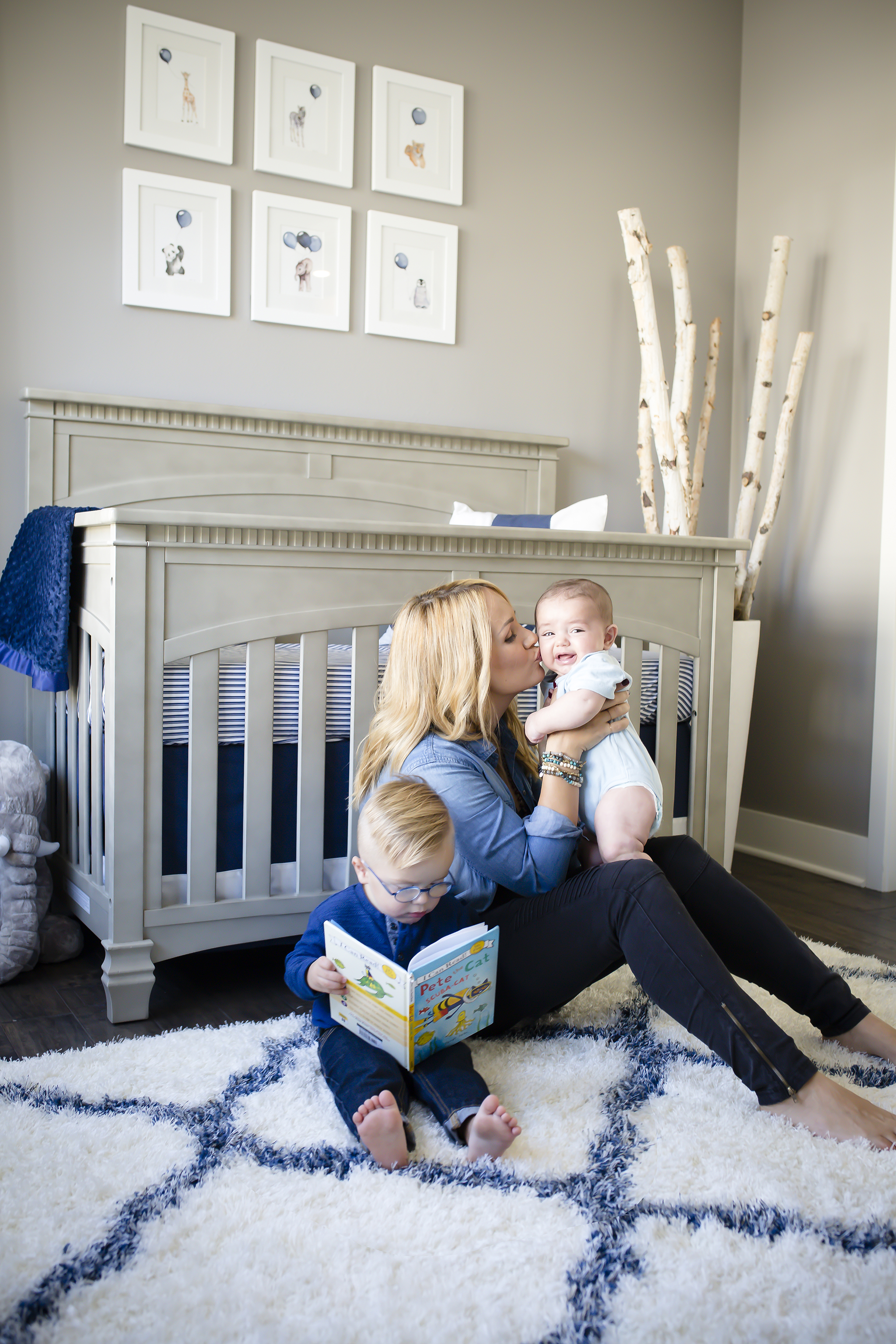 Jenn Brown and Wes Chatham's Nursery