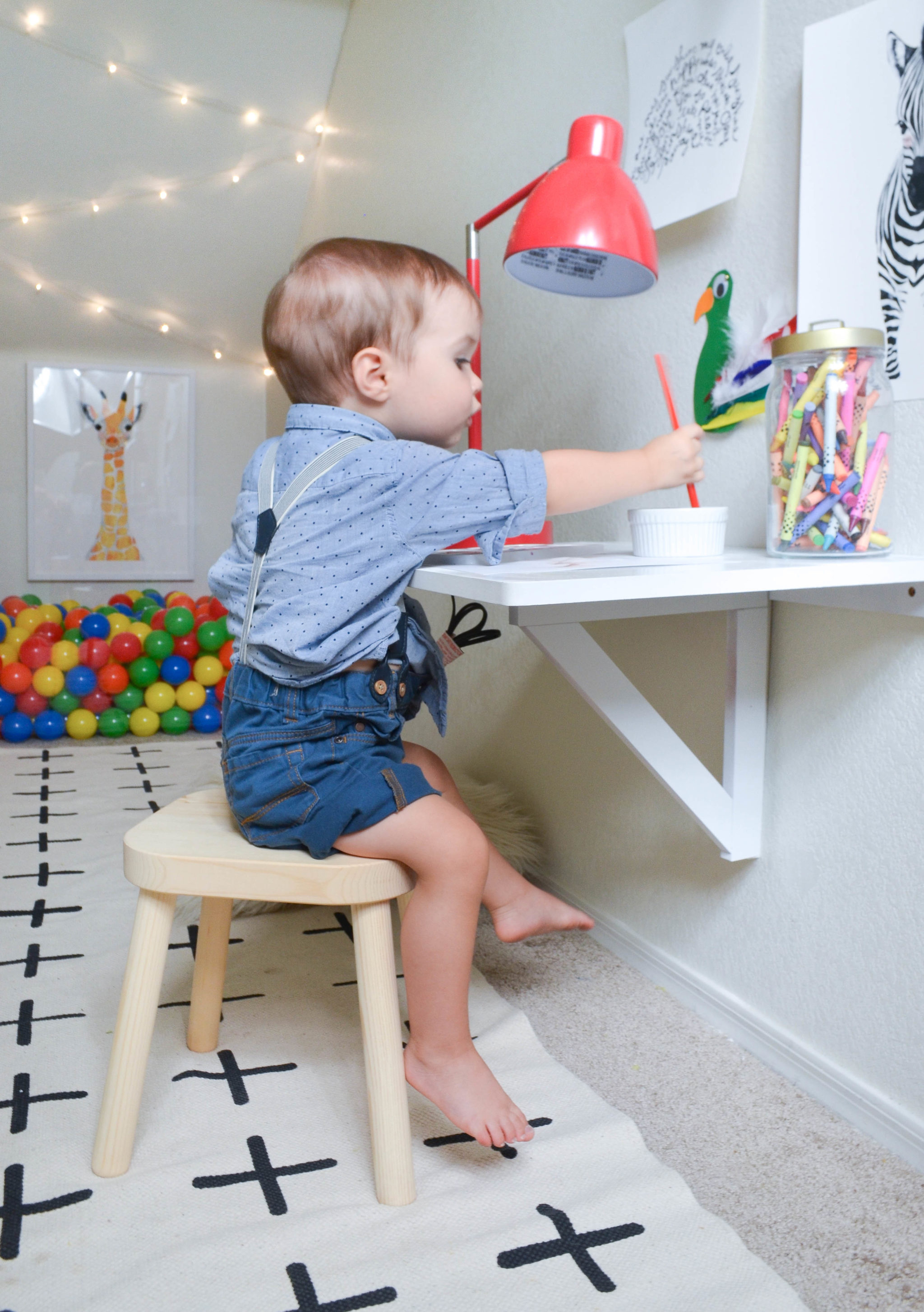 How to Turn Your Closet into a Playroom