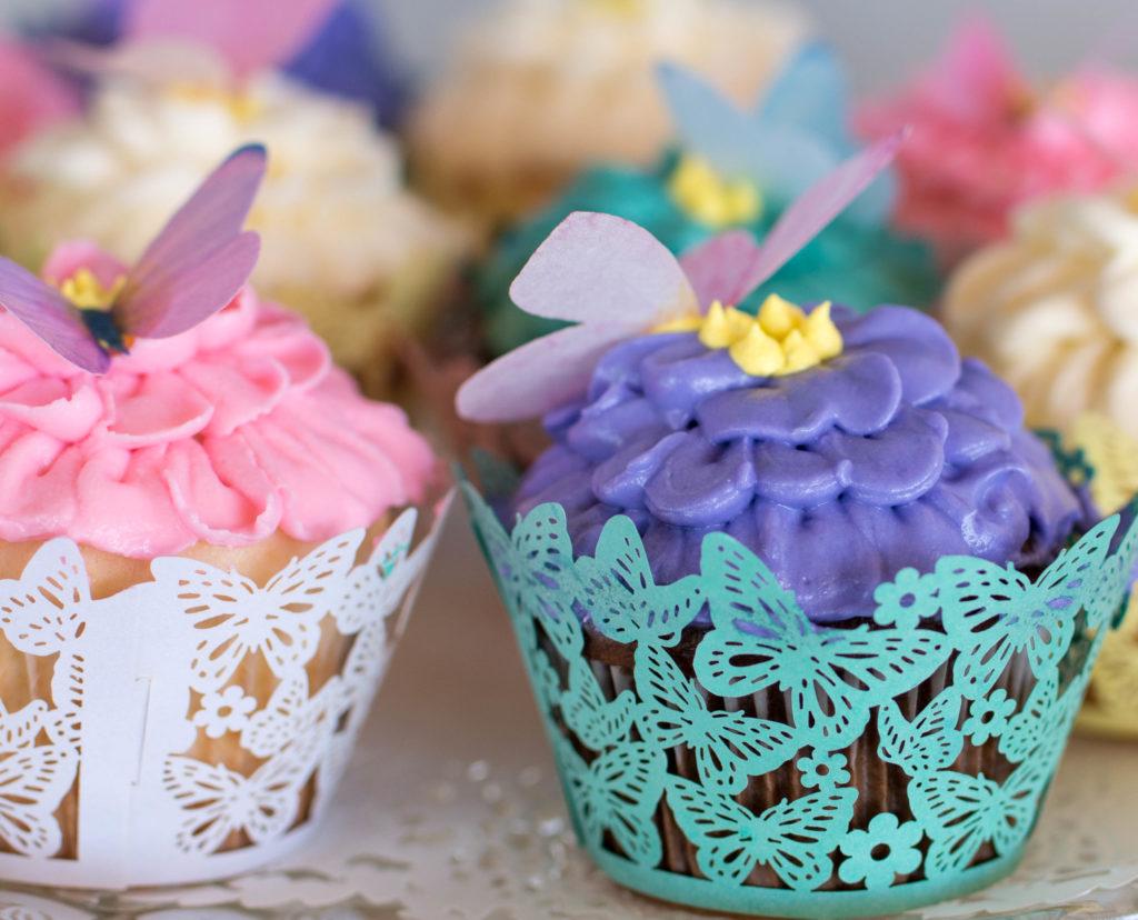 Lanas butterfly flower garden 1st birthday party project nursery izmirmasajfo